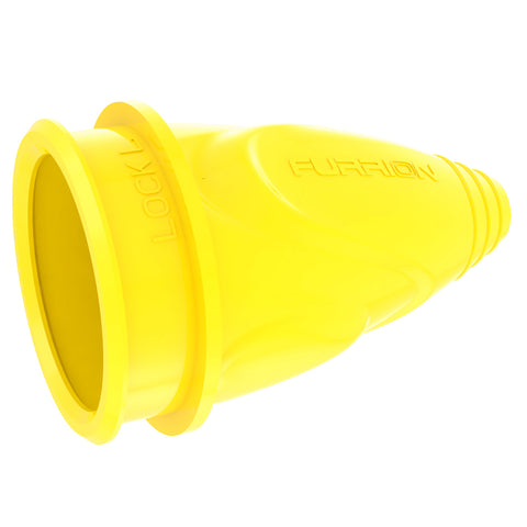 Furrion 30A Male Connector Cover Yellow - F30COV-SY