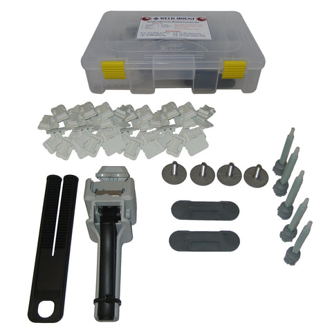 Weld Mount Standard Start-Up Kit w/o Adhesive - 65109