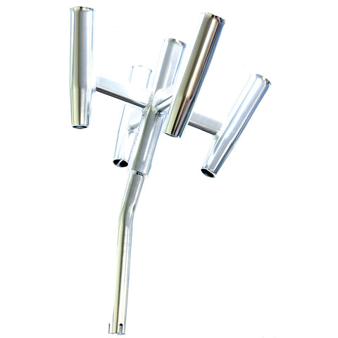 Tigress Five Banger Aluminum Rod Holder - Bent Butt - 88157-1