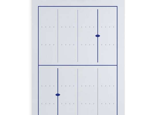 Dry Erase Football Coaching Clipboard