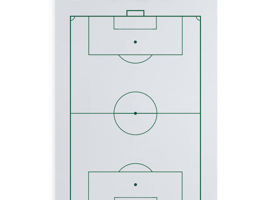 Dry Erase Soccer Coaching Clipboard