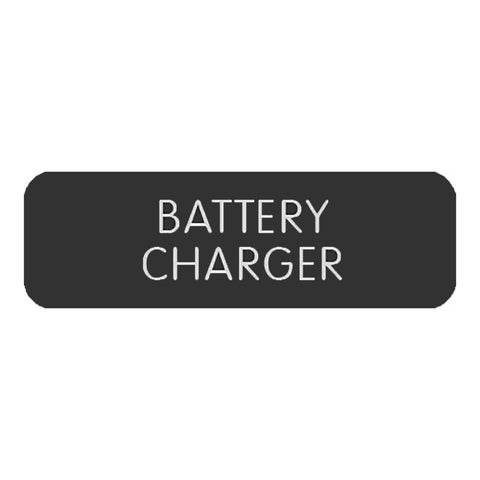 "Blue Sea Large Format Label - ""Battery Charger"" - 8063-0050"