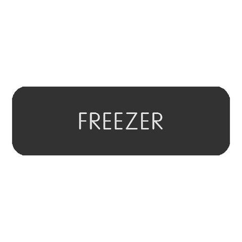 "Blue Sea Large Format Label - ""Freezer"" - 8063-0198"