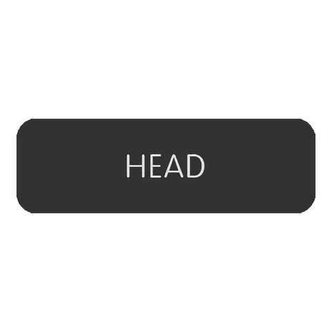 "Blue Sea Large Format Label - ""Head"" - 8063-0240"