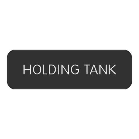 "Blue Sea Large Format Label - ""Holding Tank"" - 8063-0265"