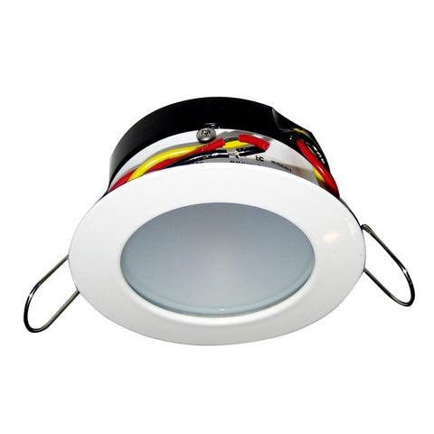 i2Systems Apeiron Pro A503 Tri-Color 3W Round Dimming Light - Warm White/Red/Blu