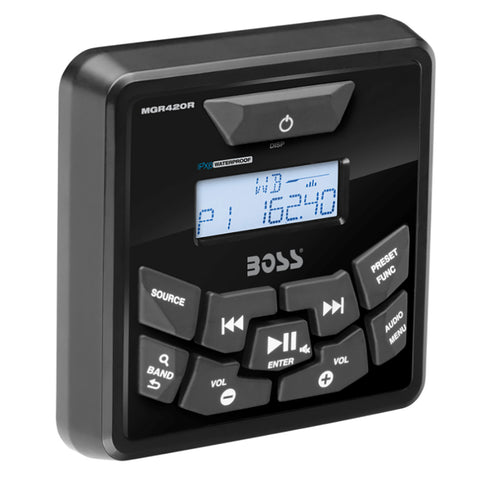 Boss Audio MGR420R Bluetooth Remote Control f/MGR450B - MGR420R