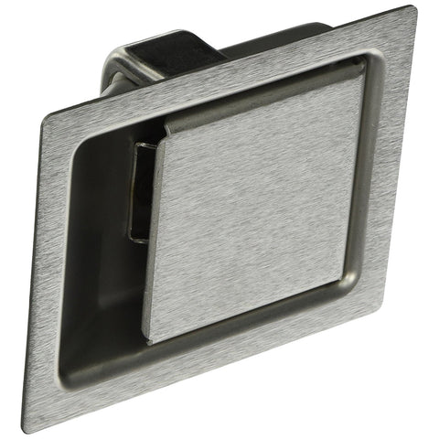 Southco Large Push-to-Close Paddle Latch - Stainless Steel - Non-Locking - 64-10