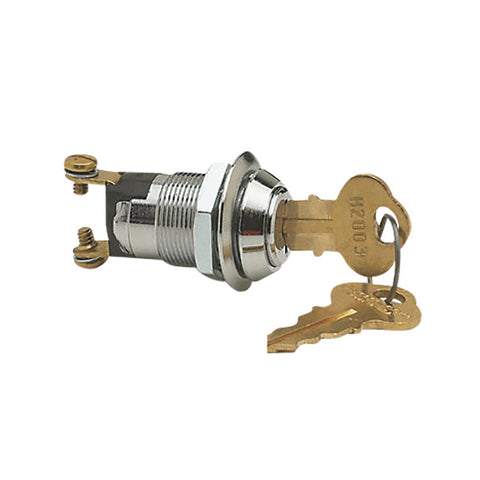 BEP 2-Position Brass Ignition Switch - OFF/ON - 1001608