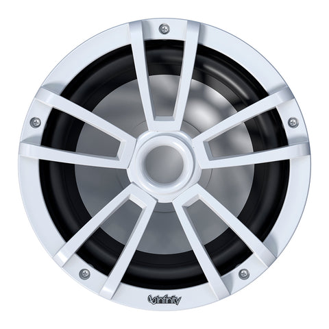"Infinity 1022MLW 10"" Multi-Element Marine Subwoofer w/Grille - White - INF1022ML"