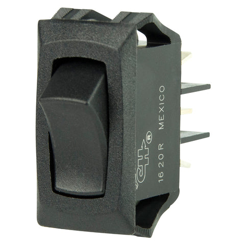 BEP Curved SPDT Mini Rocker Switch - 12V - ON/ON - 1001706