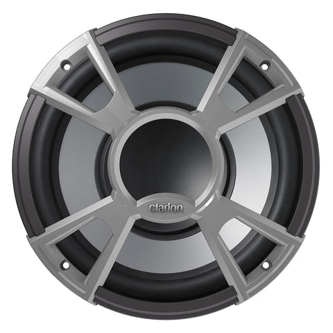 "Clarion CMQ2512W 10"" 4-OHM High Performance Water Resistant Subwoofer 400W - CMQ"