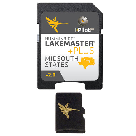 Humminbird LakeMaster PLUS Chart - Mid-South States - Version 2 [600009-6]