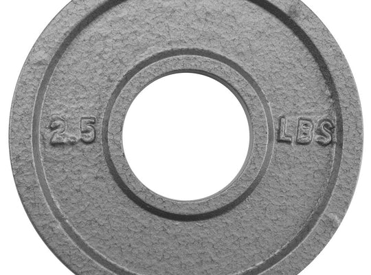 2.5lb Olympic Style Iron Weight Plate