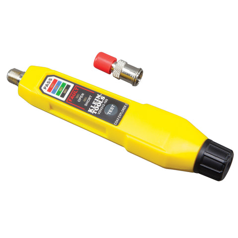 Klein Tools Coax Explorer® 2 Tester w/1 Red Remote - VDV512-100