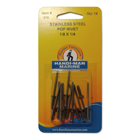 Handi-Man Stainless Steel Pop Rivet - 310
