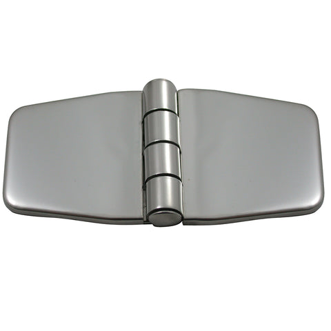 "Southco Stamped Covered Hinge - 316 Stainless Steel - 1.4"" x 3"" - N6-5A-4VC8-24"