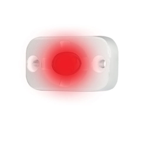 "HEISE Marine Auxiliary Accent Lighting Pod - 1.5"" x 3"" - White/Red - HE-ML1R"
