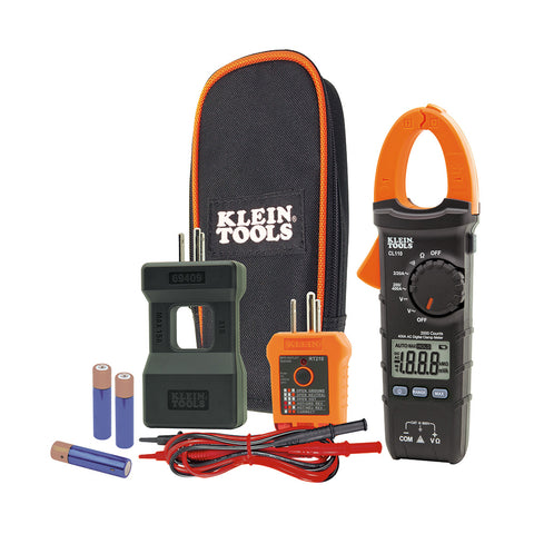 Klein Tools Electrical Maintenance and Test Kit - CL110KIT