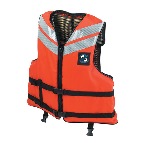 Stearns Work Boat Flotation Vest - X-Large [I460ORG-05-000F]