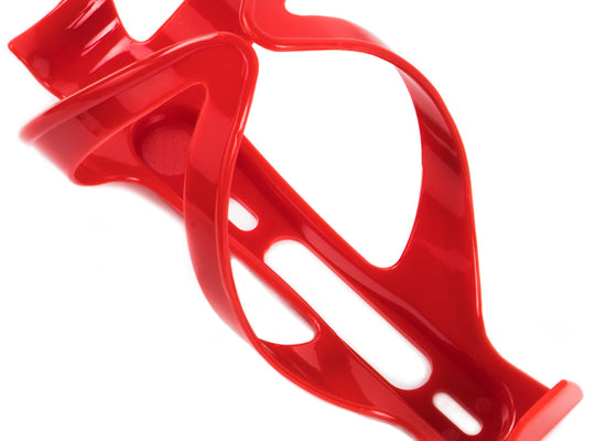 Plastic Bicycle Water Bottle Cage, Red