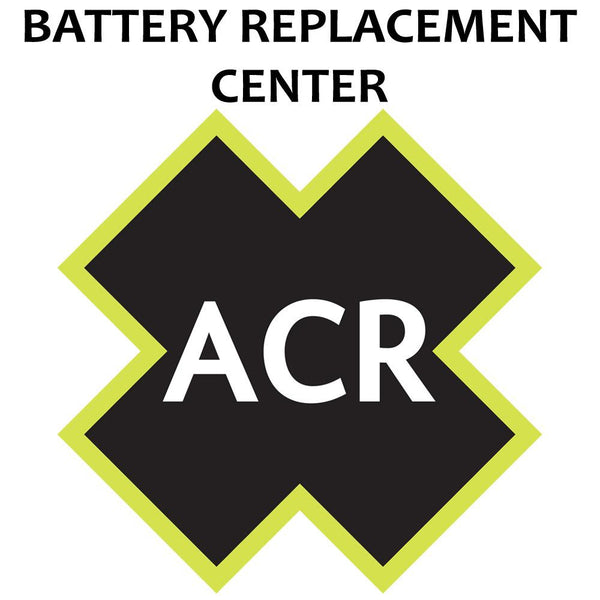 ACR FBRS 2744 Battery Replacement Service {-}-