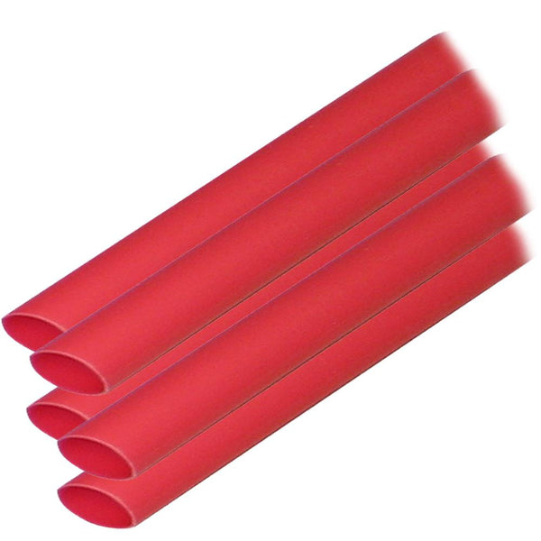 "Ancor Adhesive Lined Heat Shrink Tubing (ALT)  38"" x 6""  5Pack  Red {-}-"