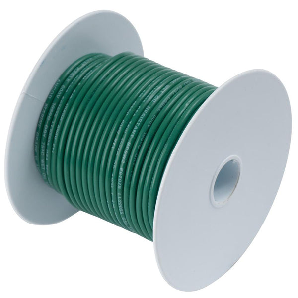 Ancor Green 18 AWG Tinned Copper Wire - 35' - 180303