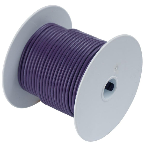 Ancor Purple 18 AWG Tinned Copper Wire - 35' - 180703