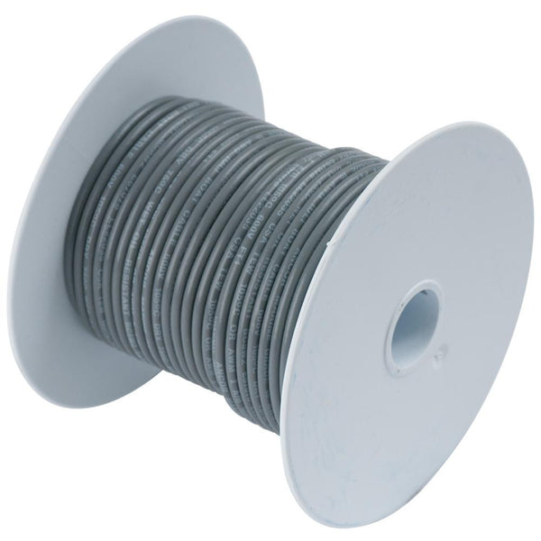 Ancor Grey 16 AWG Tinned Copper Wire  25' {-}-