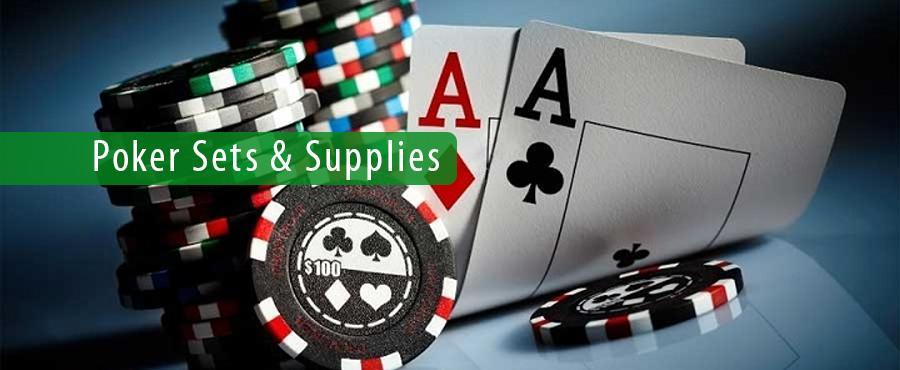 Poker Sets & Supplies