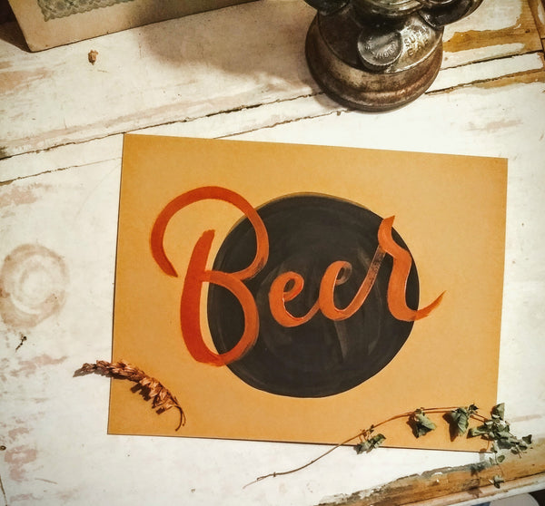 Beer Sign in Rust Script