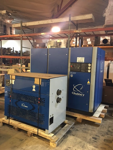 Quincy QSI-440i Rotary Screw Air Compressor