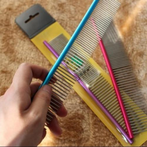 Steel Hair Comb Pet Cleaning Brush - best-pet-store-supplies