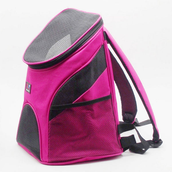 Double Shoulder Mesh Backpack Bag