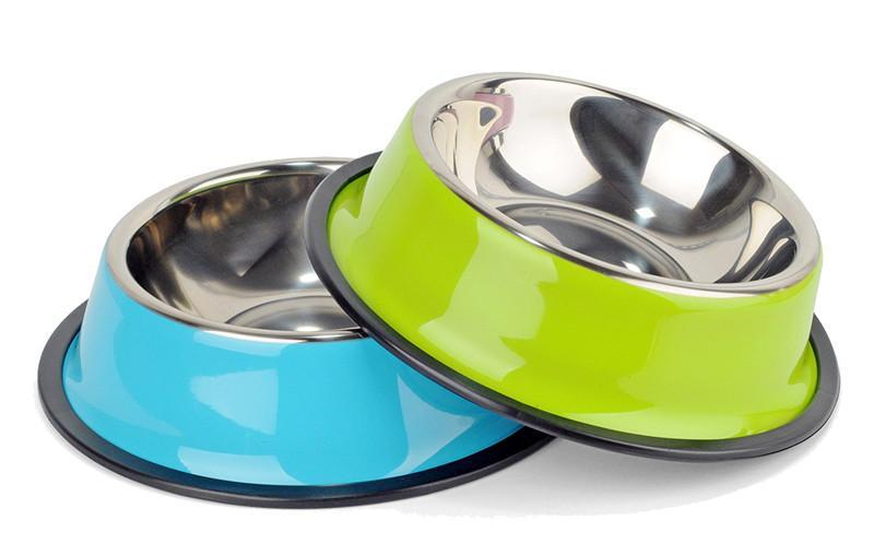 Pet Food Water Drink Dishes Feeder