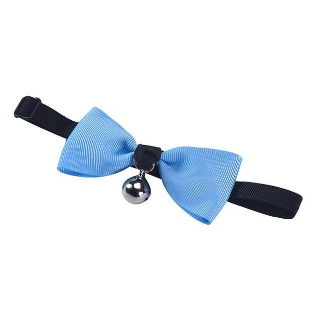 Pet Bow Tie With Bell Necktie