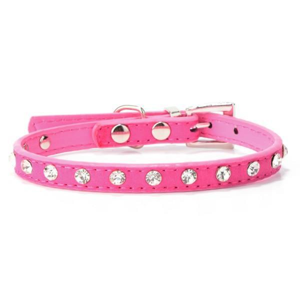 Dogs Collar Bell Rhinestone - best-pet-store-supplies