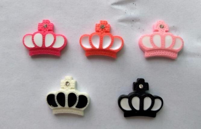 Pet Accessories Resin Crown Clip