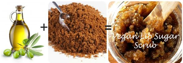 DIY Vegan Lip Scrub
