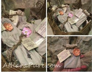 Vintage Themed Baby Shower and Soap Favors