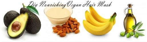 DIY Vegan Hair Mask Recipe