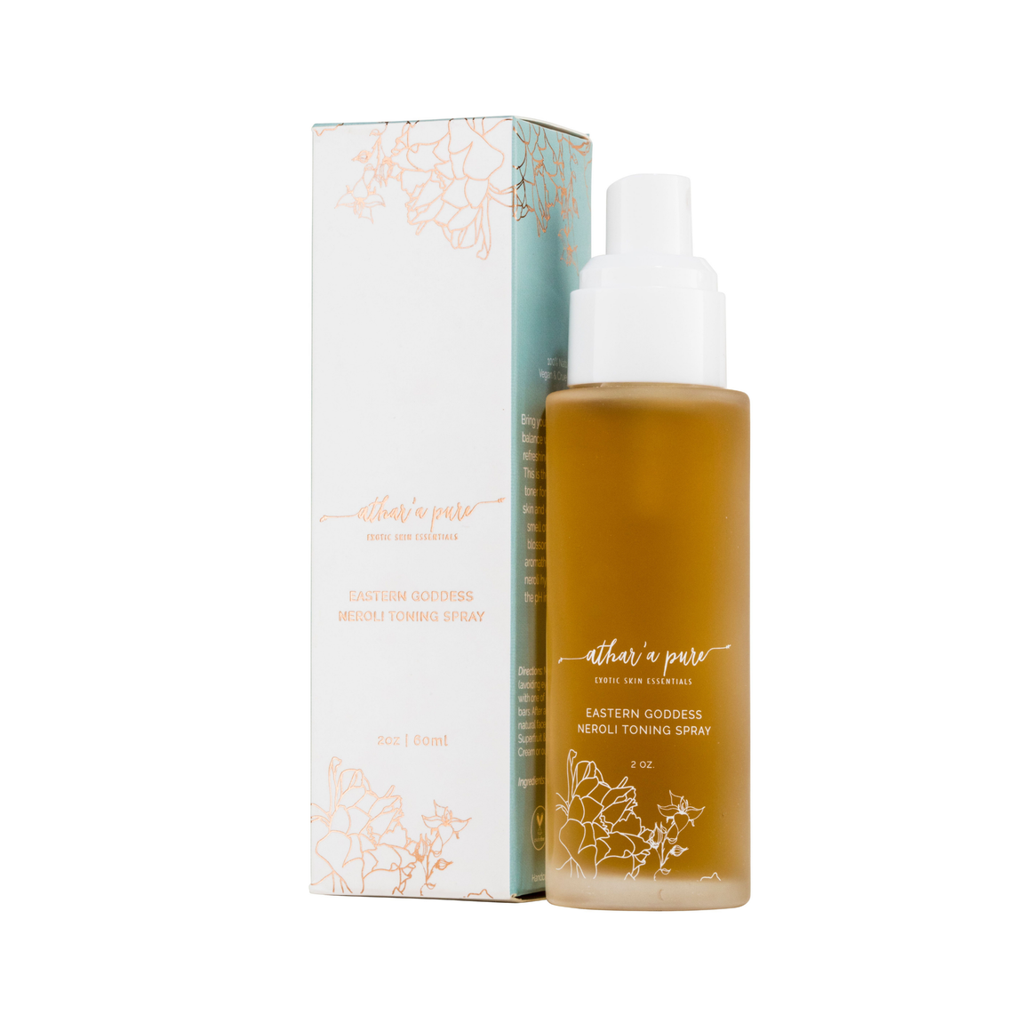 Eastern Goddess Neroli Toning Mist - Natural Face Toner (Vegan, 100% Natural)