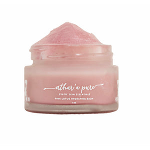 Pink Lotus Hydrating Balm (Organic, Vegan, 100% Natural)