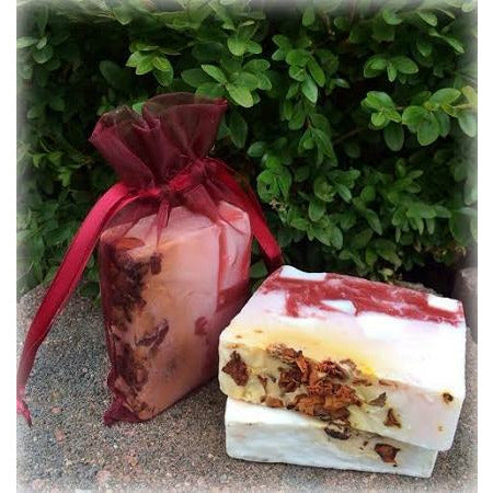Rose Petal Lilac Soap - Luxury Rose Soap (Natural, Vegan, Organic)