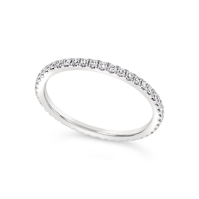 Round Diamond Eternity Wedding Band - .36 carat t.w.