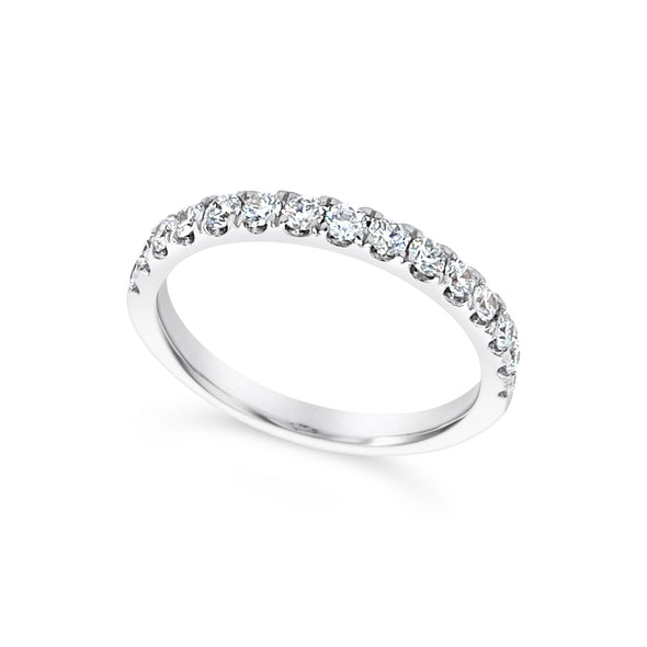 Round Diamond Wedding Band - .53 carat t.w.