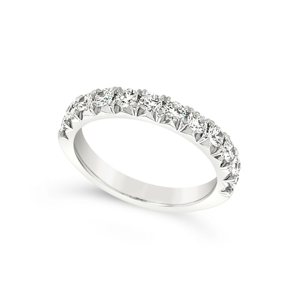 Twelve Round Diamond Wedding Band - .78 carat t.w.