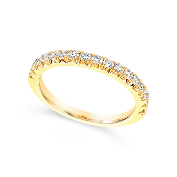 Seventeen Round Diamond Wedding Band - .40 carat t.w.