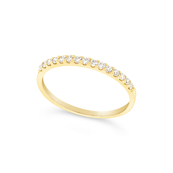 Fifteen Round Diamond Wedding Band - .25 carat t.w.